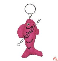 Fish design felt key ring3