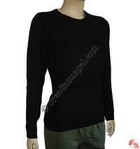 Ladies round-neck Pashmina sweater