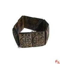 General carved bone bracelet
