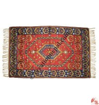 Silk embroidered rug2