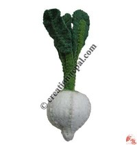 Felt turnip (set of 5)