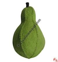 Felt large pear