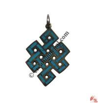 Large size Endless knot pendant