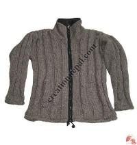 Light brown Nagbeli woolen jacket