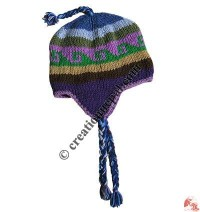 Woolen ear hat136
