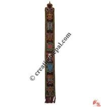 Woven large Tashi Targey wall hanging