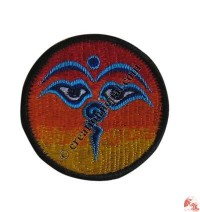 Small size Buddha-Eye badge