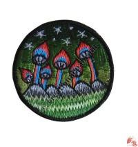 Small size Mushroom badge