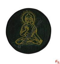 Medium size Buddha badge1