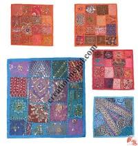 Rajasthani Jari-Sitara cushion 5