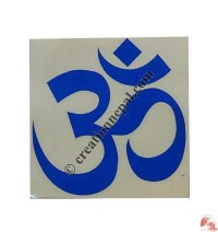 Big OM mantra sticker (packet of 10)