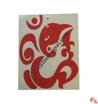 Big OM-Ganesh sticker (packet of 10)