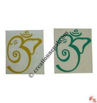 Small Ganesh-OM sticker (packet of 10)