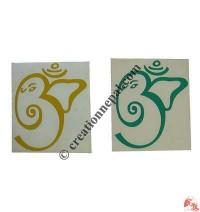 Small Ganesh-OM sticker (packet of 10)