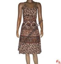Jayapuri design printed cotton dress