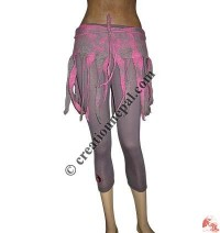 Felt Hippie Wrap Skirt 3