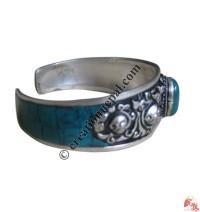1 - Stone white metal bangle4