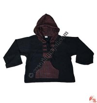 Cotton hooded kids Kurtha top