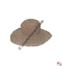Hemp-cotton wire round hat7
