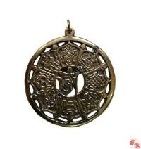 Tibetan astamangal pendent