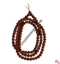 Rudraksha 7 mm 108 beads Mala