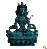 Aparamita turquoise color Buddha