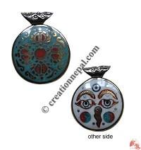 Dorje round pendant