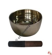 Vertical design plain singing bowl1