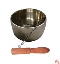 Vertical design plain singing bowl4