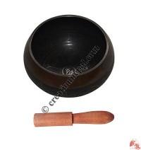 Etching antique design singing bowl3