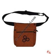 3-circle emb belt bag
