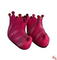 Trunk folded felt shoes - Adult