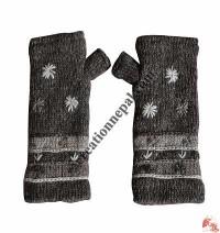 Woolen tube gloves6