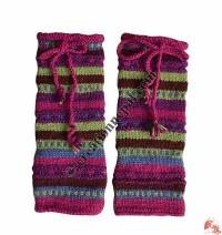 Woolen leg warmer4