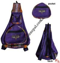 Folding design BTC cotton bag