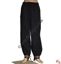 Cotton bottom strap trouser