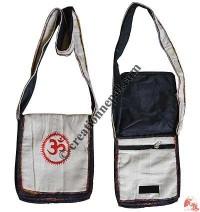 OM embroidered bag