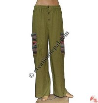 Gheri pocket cotton trouser