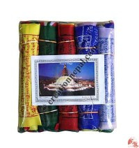 Cotton prayer flag15 (rolls of 5)