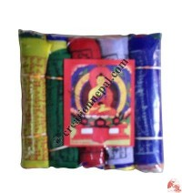 Cotton prayer flag12 (rolls of 5)