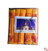 Fine cotton prayer flags 25 (rolls of 5)