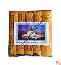 Fine cotton prayer flags 15 (rolls of 5)