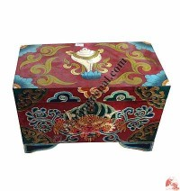 Painted treasure box13