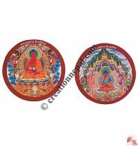 Amitabha Buddha magnet