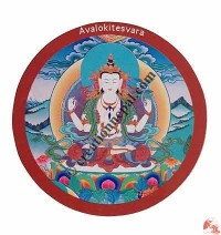 Avalokitesvara fridge magnet