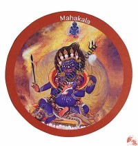 Mahakala fridge magnet