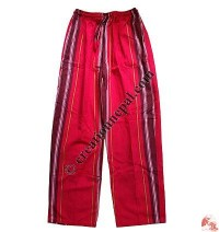 Double shyama pate trouser