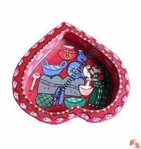 Mithila rts heart shape tray