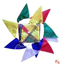 Triangular prayer flag1