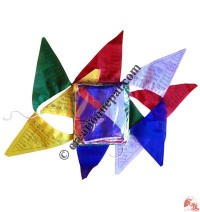 Triangular prayer flag2